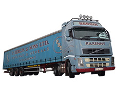 Bergin Logistics Curtainsider